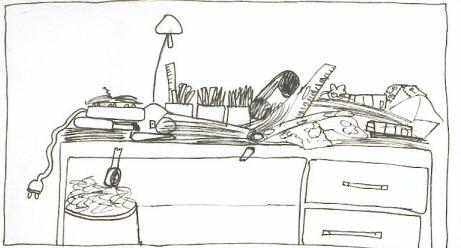 sans bureau fixe prends moi pour une bille. Black Bedroom Furniture Sets. Home Design Ideas